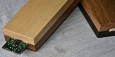 4 AXYZ #3Dprinting '#smart #wood' furniture with embedded #electronics