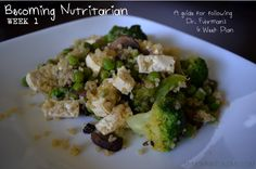 Becoming Nutritarian - Week 1 - My Momma Told Me