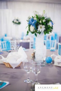 Turcoaz de primavara Table Decorations, Floral, Blog, Design, Home Decor, Decoration Home, Room Decor, Florals, Flower
