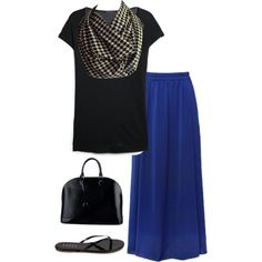 A fashion look from August 2014 featuring short sleeve v neck t shirts, blue camisole and shiny flats. Browse and shop related looks. Infinity Scarf Outfits, Semi Casual, Houndstooth, V Neck T Shirt, Fashion Inspiration, Camisole, Fashion Looks, Black And White, Polyvore