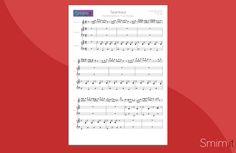 tarantella siciliana & i'm an albatraoz - spartito gratis per pianoforte 4 mani e tastiera