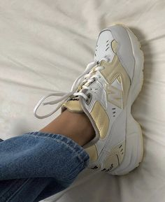 New balance shoes new balance 608 sneakers color cream/white size Moda Sneakers, Sneakers Mode, Sneakers Fashion, Fashion Shoes, Fashion Outfits, Sneakers Workout, Fashion Women, Lux Fashion, Foto Fashion