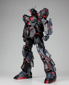 GUNDAM GUY: MG 1/100 Nu Gundam Ver. Ka 'Murder' - Custom Build