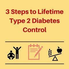 3 Basic Principles for Type 2 Diabetes Control #health #diabetes #lifestyle