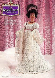 Empress Josephine, Royal Court Collection crochet patterns