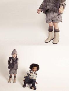 Cu aripile puse: Zara kids lookbook