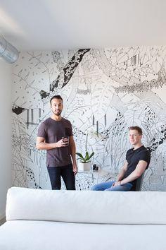 Nic & Andrew's Minimal Black & White Home in Minneapolis — House Tour