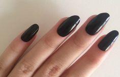 Formas de cortar las uñas, forma uñas ovaladas.   #diseñouñas #unhas #uñasconbrillos
