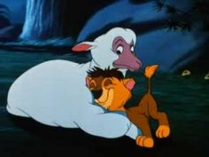"""Lambert The Sheepish Lion"" (1952) - in the style of a Silly Symphony, this is the story of how the Stork misdelivers a lion cub (who looks a little bit like Scar...) to a mother ewe.  Great story of a huge lion who think's he's a sheep."