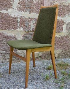 Dänische Esszimmer Stühle 60er Jahre