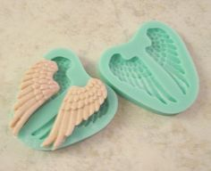 Soft Silicone Fondant Decorating Wings of an Angel by LaurelArts, $8.00