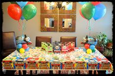 Thomas the train party ideas | It was an awesome Thomas the Train Party!
