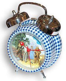 Wizard of Oz alarm clock