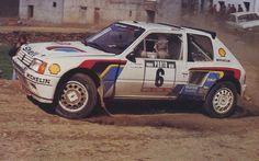 1985 Portugal (Salonen) Peugeot 205 T16
