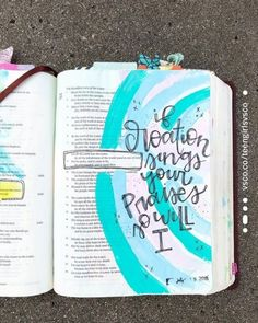 Let all the inhabitants of the world stand in awe of him! I started a highlight of songs that Im listening to and journaling with! This is saved up there! Bible Drawing, Bible Doodling, Bible Verses Quotes, Bible Scriptures, Jesus Quotes, Life Quotes, Cute Bibles, Bibel Journal, Psalm 33