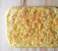Parmesean foccacia bread recipe from www.blessthismessplease.com A recipe from America's Test Kitchen so you know it's good!
