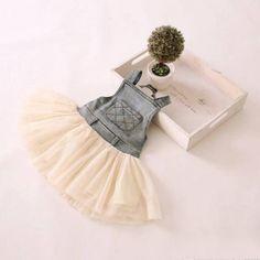 Baby Girl Toddler Girl Vintage Blue Denim by SweetTinyBlessings Girls Lace Dress, Girls Dresses, Lace Dresses, Tulle Tutu, Tulle Dress, Denim And Lace, Blue Denim, Country Flower Girls, Summer Holiday Dresses