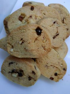 Cookie Recipes, Dessert Recipes, Desserts, Food Gallery, Cake Bars, Biscuit Cookies, Food Crafts, Greek Recipes, Biscotti