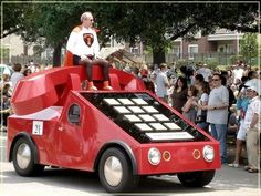 Houston Tx Unusual Car Parade