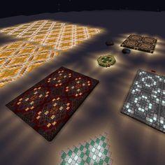 Minecraft Floor Designs, Picnic Blanket, Outdoor Blanket, Terracotta Floor, Minecraft Decorations, Glow, Flooring, Pallets, Building