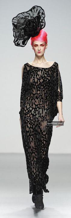 Elisa Palomino Mercedes-Benz Fashion Week Madrid FW 2012-13
