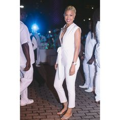 A fierce white jumpsuit and more fashion and fun at 'Dîner en Blanc' will Leave you ready for New Orleans. #EssenceFest | Essence.com