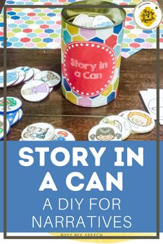 Story telling is a great way to target several aspects of speech and language at once: story elements, vocabulary, grammar, articulation, and much more! This product is so unique and appropriate for almost all of my students!