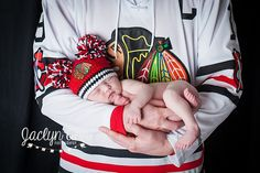 newborn photography, chicago blackhawks, nhl, hockey  www.jaclynannphoto.com