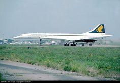 Aérospatiale/British Aircraft Corporation Concorde G-BOAD 100-010 London Heathrow Int'l - EGLL