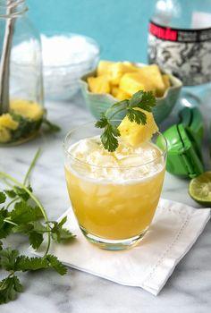 Fresh-style Pineapple Cilantro Margarita -  BoulderLocavore.com
