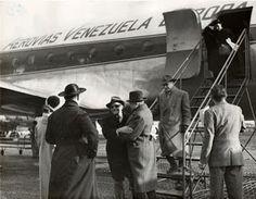 Douglas DC-4 of AVENSA (Aerovias Venezolanas S.A) at Rome in 1950