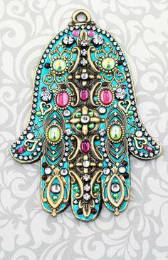 Hamsa, or Hand of Fatima
