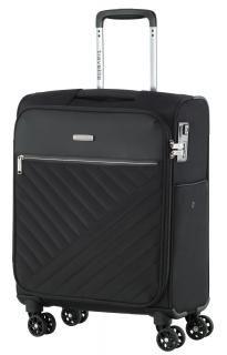 Travelite 4-Rad Trolley Jade 54cm schwarz TSA-Schloss - Bags & more Nylons, Jade, Laptop Rucksack, Suitcase, Taschen, Suitcases, Nylon Stockings