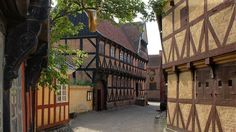 Enjoy a tour through the streets in Den Gamle By, The Old Town Museum