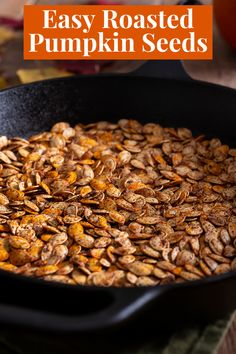 Check out our easy recipe for making the best roasted pumpkin seeds at home. We've get a couple of flavor styles that you will just love. Spicy, Italian or sweet you choose the spices that your family loves.