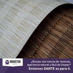 Dante. #monsterblinds #decoracion #estilo #casa #hogar #persianas #blinds #design #interiordesign #remodela #colores #formas #texturas #dante