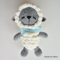 #amigurumi #crochet #crochetsheep #babytoy #nursery #artistbear #handcrafted #handmade #sheep #lamb #crochetlamb #yarn #wool #melieami by melie_ami
