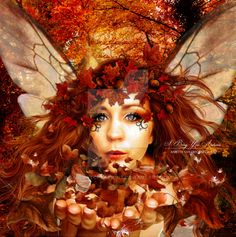 I Bring You Autumn by babsartcreations on DeviantArt