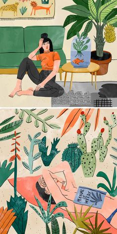 Interior illustrations by Bodil Jane