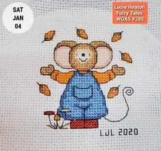 Mouseloft stitchlets Cross Stitch Kit ~ petit chien ~ ~ Amusant Neige NOUVEAU
