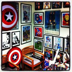geek office decor. My Super Geek Office Decor D