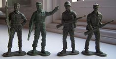 WWII Plastic Toy Soldiers: Auburn - Toy Soldiers