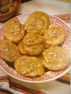 The original Cypriot recipe for Pishies (Pastries Dipped in Syrup) is enjoyed by all Cypriot people as a dessert.