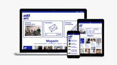 Ce travail de Villa Studio pour Addart illustre parfaitement une des tendances actuelles en web design. L'évènement accueille 1200 personnes et propose...