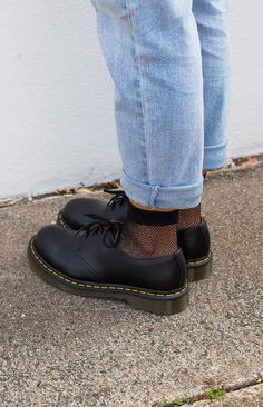 Low Top Doc Martens, Dr. Martens, Doc Martens Loafers, Mary Jane Doc Martens, Dr Martens Outfit, Oxford Shoes Outfit, Shoe Game, Smooth Leather, Clothing Styles