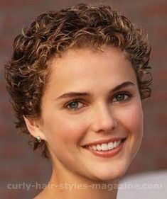 Image result for permed short hair