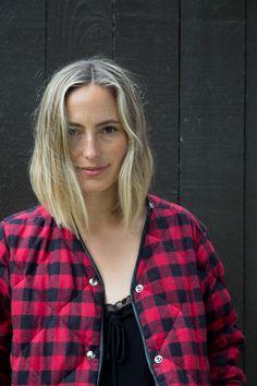 Elaina Bellis Styles Summer's Bold Stripes and Checks
