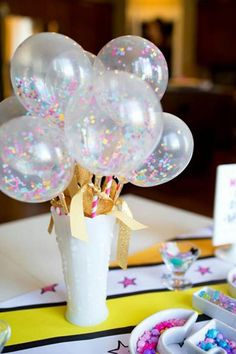 Unicorn Birthday Party Decorations by - Unicorns -You can find Unicorns and more on our website.Unicorn Birthday Party Decorations by - Unicorns - Rainbow Unicorn Party, Unicorn Birthday Parties, First Birthday Parties, Birthday Party Decorations, First Birthdays, Party Favors, Birthday Ideas, 5th Birthday, Balloon Birthday