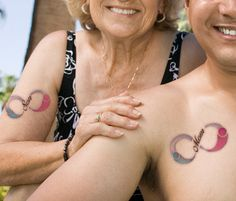 mother son matching tattoos - Google Search