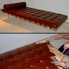 Chocolate bed..yummy